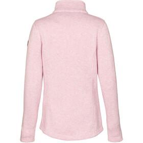 killtec Linessa Melange Chaqueta Polar Mujer, rosa